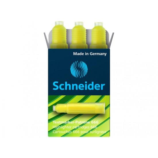Rezerva schneider maxx eco 666 galben - 5378