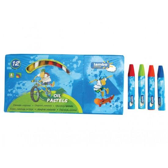 Creioane cerate oil pastels lambo school - 5972