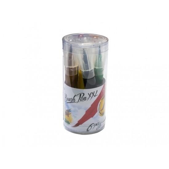 Carioca tip pensula ico xxl 6/set - 6411