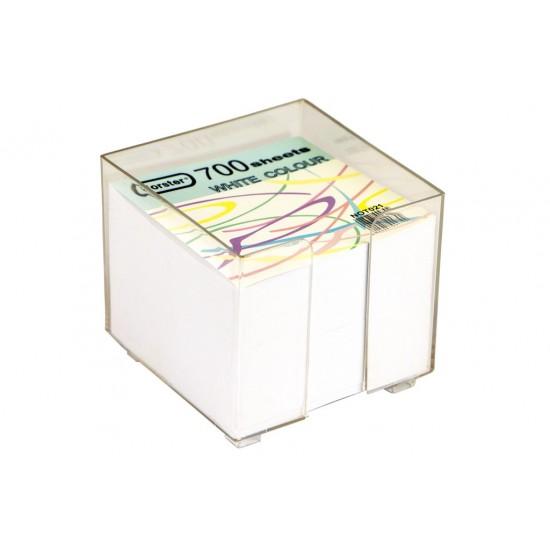 Cub din hârtie alba - NOT021