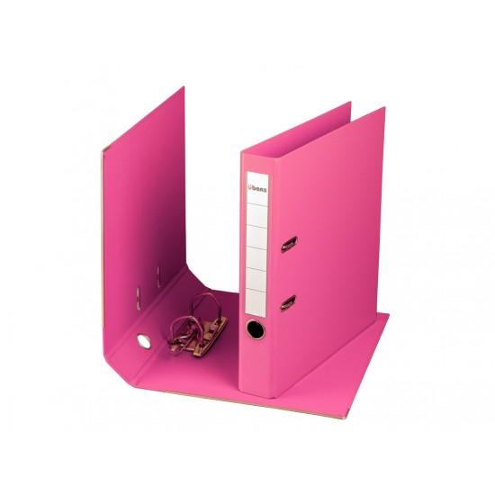 Biblioraft plastifiat übers 50 mm roz - BIB019