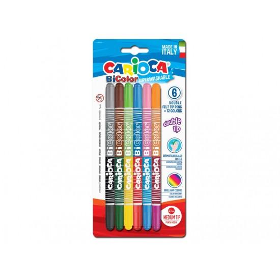 Carioca bi-color 6/set - SKR068