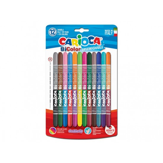 Carioca bi-color 12/set - SKR069