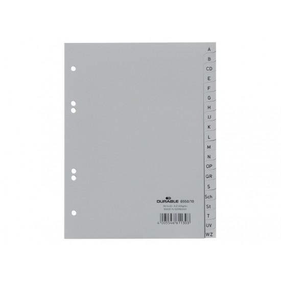 Index plastic a5 a-z durable - IDX040