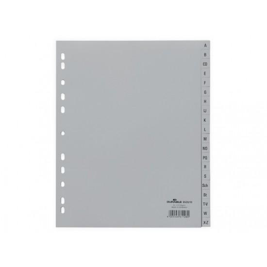 Index plastic a4 a-z durable - IDX041