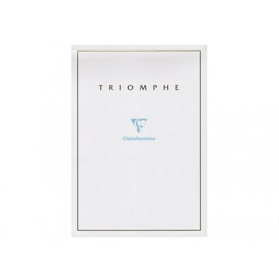 Bloc hârtie corespondenta a4 triomphe, clairefontaine - HCO362