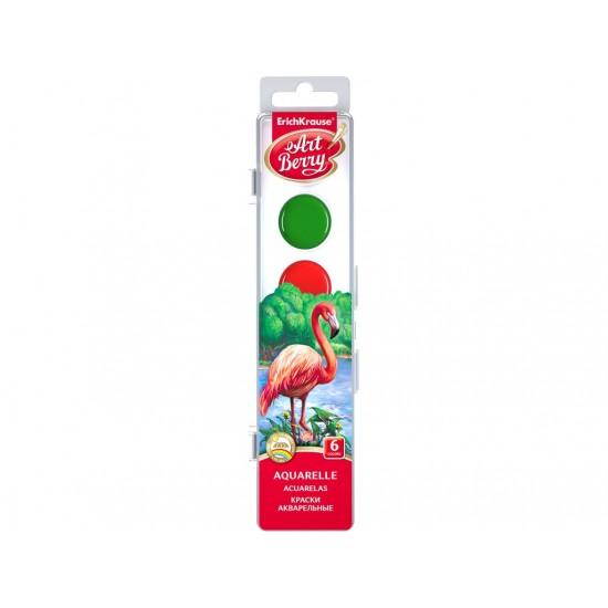 Acuarele artberry cu protectie uv, 6/set - SKP031