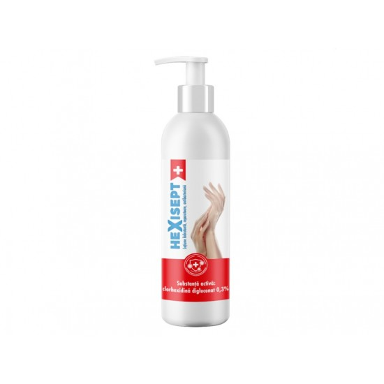 Crema antibacteriana hexisept 250 ml - COV002