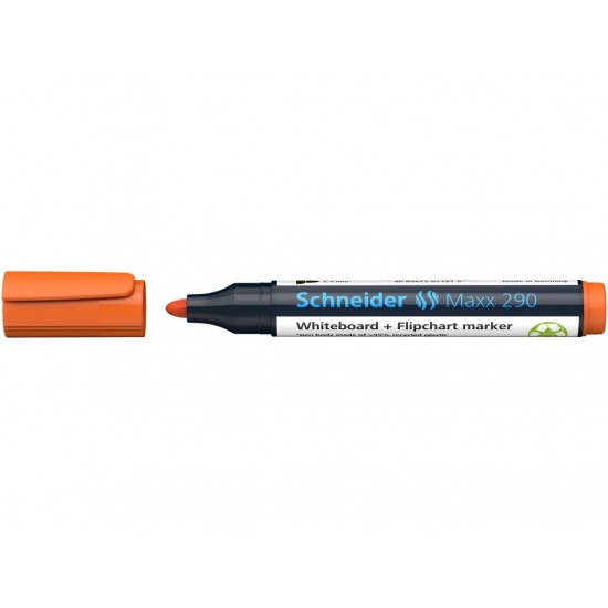 Board marker schneider maxx 290 portocaliu - 2931