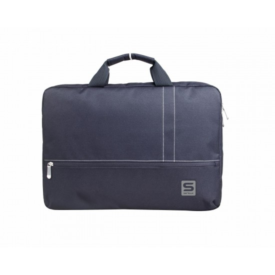 Geanta notebook serioux, srx-8915, dimensiuni: 42 x 4.5 x 29.5 cm, compartiment laptop: max 15.6, curea de umar ajustabila, material poliester - SRX-8915