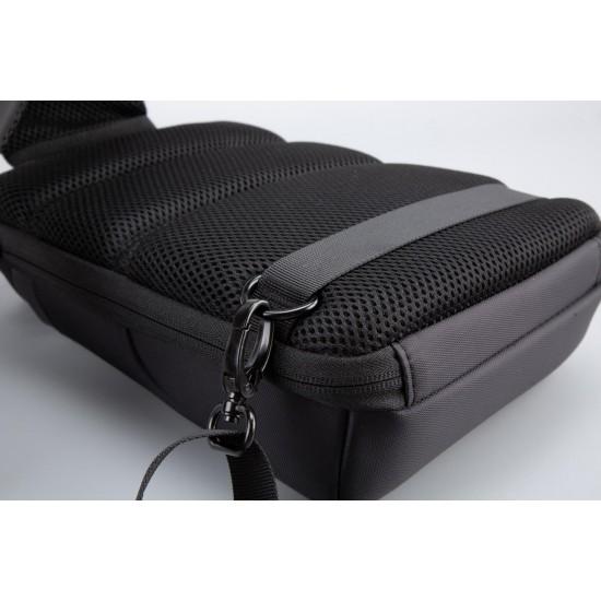 Geanta de umar serioux, smart travel st9611, dimensiuni 21 x 10 x 31 cm, rezistenta la apa, compartimet tableta pana la 7.9, bretea ajustabila, material poliester - SRX-ST9611