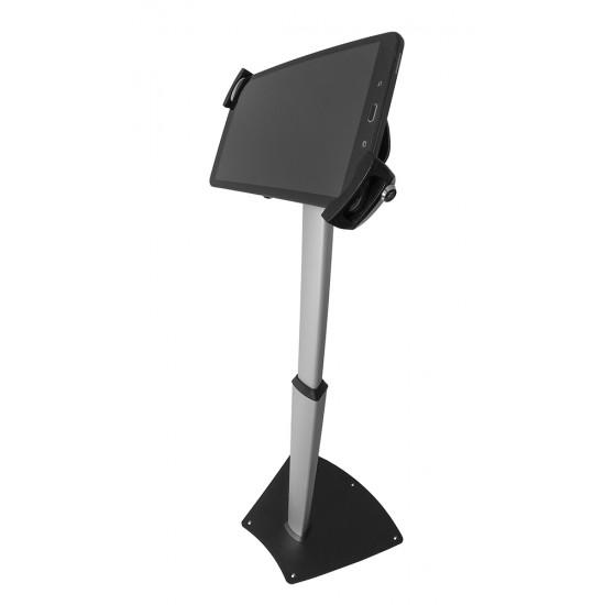 Stand de podea pentru tablete blackmount lcd-s04+ suport vesa blackmount pad29-01+adaptor bm jj90, securizat - SUPORT-S04+PAD29-01-JJ90/29
