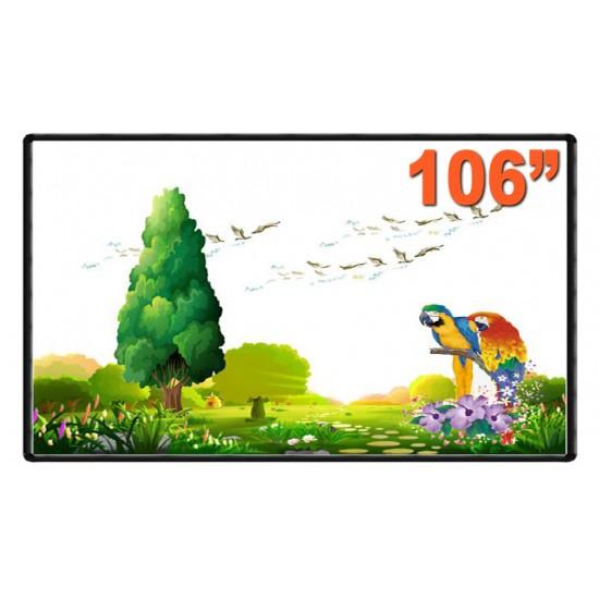 "Tabla interactiva 106"" evoboard ib-106rs, 16:9, tehnologie tactila ir, 10 puncte de atingere - WBDINT-EV-IB106"