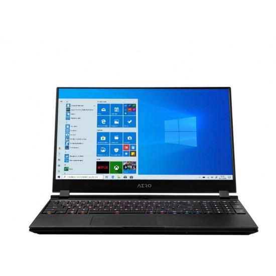 Gigabyte aero, 15.6 ips, i7-10870h comet lake, 16gb ram, 512gb ssd, vga rtx3070, windows 10 home, 3 x usb 3.1, 1x usb-c, 1x hdmi, mini display port, 1x rj45, wi-fi 6, 1920 x 1080 (fullhd). - XC-8EE1130SH